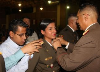 Zodi-Mérida asciende 184 profesionales militar