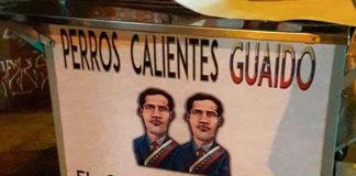 """""""Perros calientes Guaidó"""", nuevo emprendimiento venezolano en Chile"""