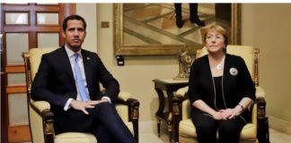 Hoy le toca a Guaidó: Bachelet llegó a la AN para reunión con la oposición