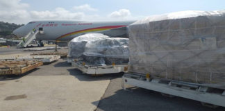 Llega tercer cargamento de ayuda humanitaria