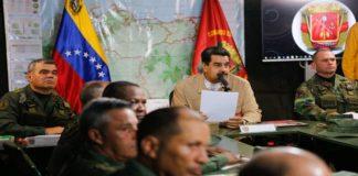 Maduro y FANB ratifican planes para la defensa integral de la nación