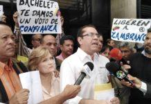 Dirigentes de AD exigen a Bachelet que visita a Venezuela no sea un saludo a la bandera