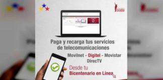 Banco Bicentenario aumenta límites de recarga para telefonía y Directv