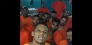 Venezolanos detenidos en Trinidad y Tobago llevan tres días en huelga de hambre (+Videos)