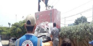 Llegó el primer cargamento de ayuda humanitaria al Zulia