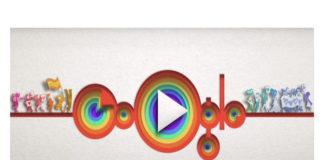 """""""Orgullo gay"""", el doodle de Google que dedicó este 4 de junio"""