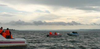 Este fin de semana en aguas del golfo se hizo la búsqueda de desaparecidos falconianos
