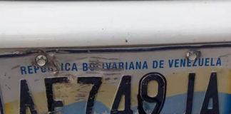 ¡Por vivo!, Alteró el serial de la placa del carro para echar gasolina en Puerto Ordaz