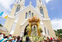 Luego de 10 años de robada, aparece la corona de la Virgen del Valle (+Foto)