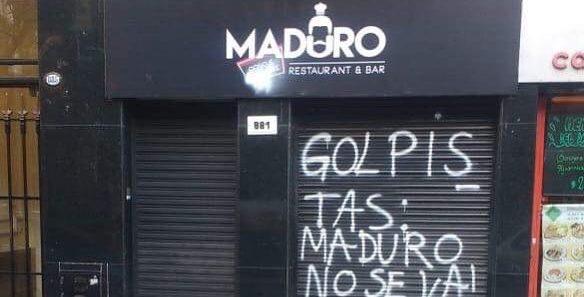 """¿Recuerda el restaurante """"Maduro c#ñ# e tu madre""""?, se fue a la quiebra (+Foto)"""