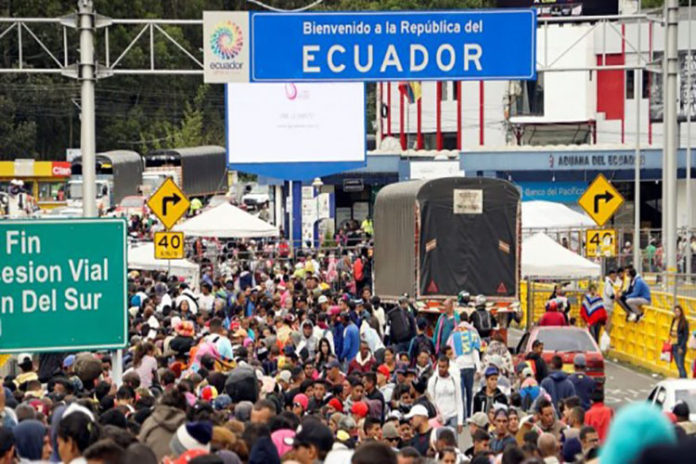 ¡Atención venezolanos!, Visa en Ecuador tendrá vigencia de dos años