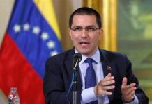 Arreaza se reunió con Guterres: hablaron sobre el diálogo en Venezuela