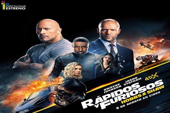 """Este 2-A: ¡Es hora de subir la velocidad con """"Rápidos y Furiosos: Hobbs & Shaw""""!"""