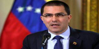 Arreaza denuncia pretensión de EEUU en sabotear diálogo entre Gobierno y oposición