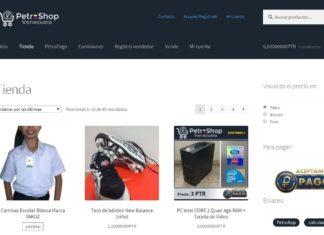 Petro Shop Venezuela, la tienda virtual donde podrás pagar en petros