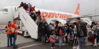 Plan Vuelta a la Patria retorna 90 connacionales de Perú