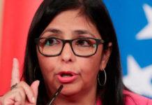 Rodríguez repudió declaraciones de Pence sobre Venezuela
