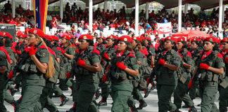 Culminan ensayos de ejercicios de la FANB para desfile del 5 de Julio