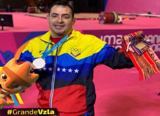 ¡Plata pa´ Venezuela!, Jesús González se colgó la medalla en pesas (+Video)