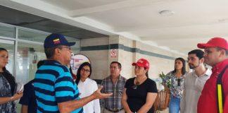 El Ministerio del Poder Popular para el Turismo y la Gobernación del estado La Guaira evaluaron este lunes los espacios