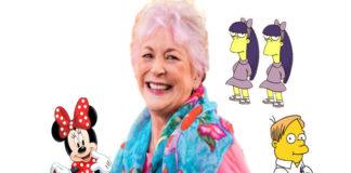 Se apaga a los 75 años, la voz de Minnie Mouse y Martin de Los Simpson