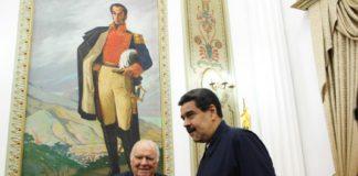 Enrique Iglesias se reunió con Maduro en Miraflores