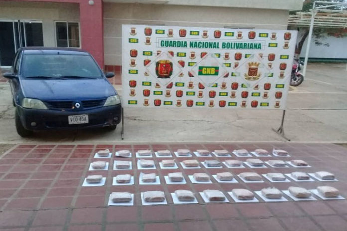 Incautan 38 panelas de marihuana en el PAC Borojó