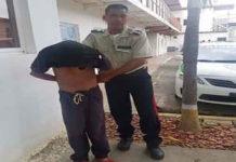 Lo capturaron por cometer actos lascivos contra una niña de tres años