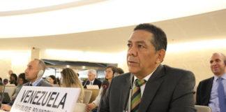 Castillo en Ginebra: Venezuela sabe que informe de Bachelet no refleja la realidad de lo que vio
