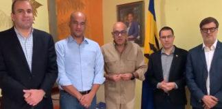 Delegación del gobierno llegó a Barbados