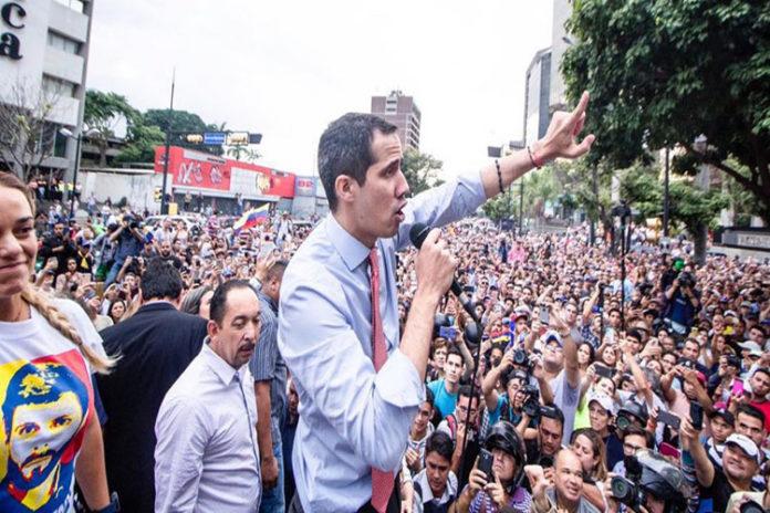 Guaidó convocó «gran sesión de calle» este 23 de julio