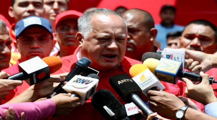 Cabello: Informe de Bachelet es un instrumento para agredir a Venezuela