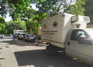 Entregaron a Fiscalía cadáver de Acosta Arévalo (+Video)