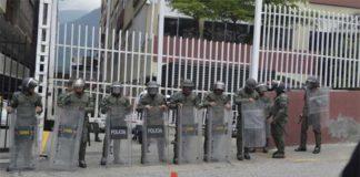 Reportan motín de presos en la sede de la DGCIM