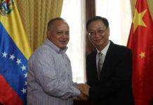 Cabello se reunió con embajadores de China y Corea del Norte