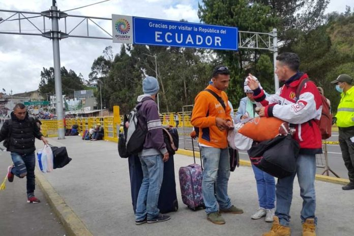 Este lunes 26 de agosto los venezolanos deberán ingresar a Ecuador con visa