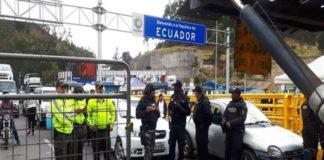 Frontera Ecuador-Colombia| En plena protesta de venezolanos murió un ecuatoriano de un infarto
