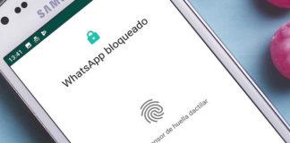 Ya puedes desbloquear WhatsApp con tu huella en su última beta