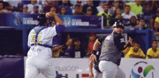 """""""Aquí habrá beisbol así tengamos que jugar nosotros"""", dijo Cabello"""