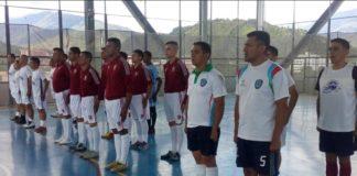 Inaugurado Triangular de Fútbol Sala por el Comando de Zona Nº 22 Mérida