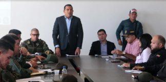 Gobernador de Falcón instruye reforzar seguridad en la costa oriental
