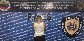 FAES detiene a presunto traficante de drogas en Antímano
