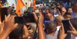 Guaidó llegó a San Juan de los Morros, Guárico