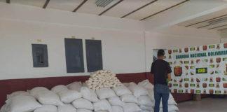 Lo detienen con más de 4.000 kilogramos de arroz acaparados en Coro