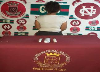 Detienen una mujer con droga que iba de Maracaibo a Caracas