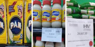 EN FOTOS: Así quedaron los precios luego del alza del dólar en Punto Fijo