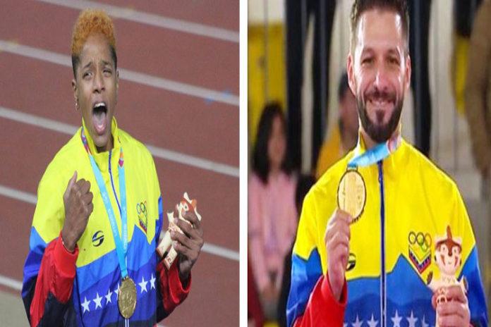 Yulimar Rojas y Antonio Díaz ganan oro en los Panamericanos