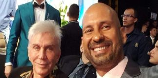 Richard Linares se fue con Osmel Sousa para el Miss Argentina