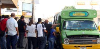 Cifras de unidades de transporte activas en Coro difieren entre sindicalistas