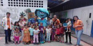 Jóvenes unidos: Actividades recreativas para niños trujillanos